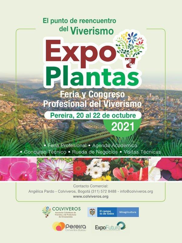 Expo Plantas del 20 al 22 de Octubre 2021